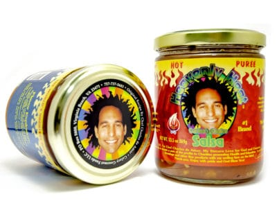 eCommerce Website for Heavenly Heat Salsa