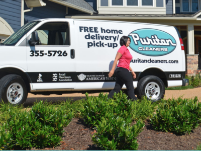 Puritan Cleaners - Website Design
